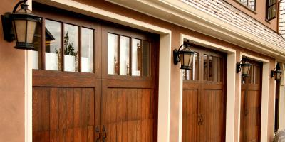 Garage doors widen compare free quotes for Wood composite garage doors